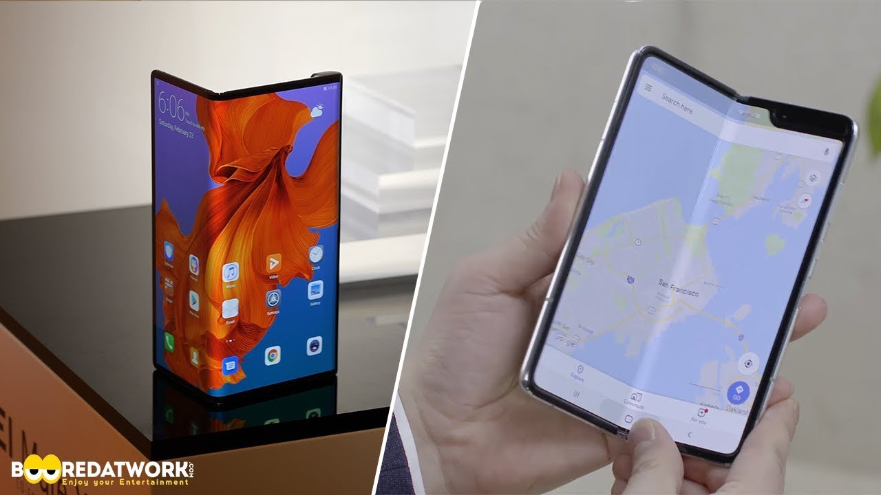 Huawei Mate X vs Galaxy Fold: Which One Should You Buy?