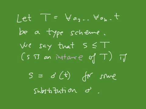 The Lambda Calculus, part 1 3   The polymorphic lambda calculus