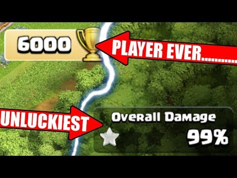 THE UNLUCKIEST PLAYER IN THE WORLD 🌍 Clash Of Clans