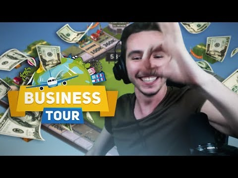 Business Tour avec Jiraya, Zank et Kenny - La game la plus rapide du monde !