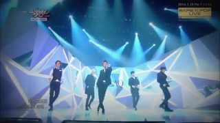live hd 140328 mblaq be a man music bank comeback stage