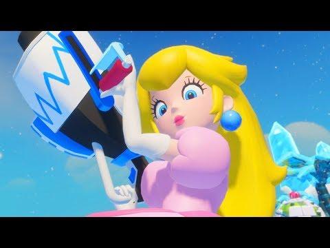Mario + Rabbids Kingdom Battle 100% Walkthrough - Part 2 - World 2 Sherbet Desert