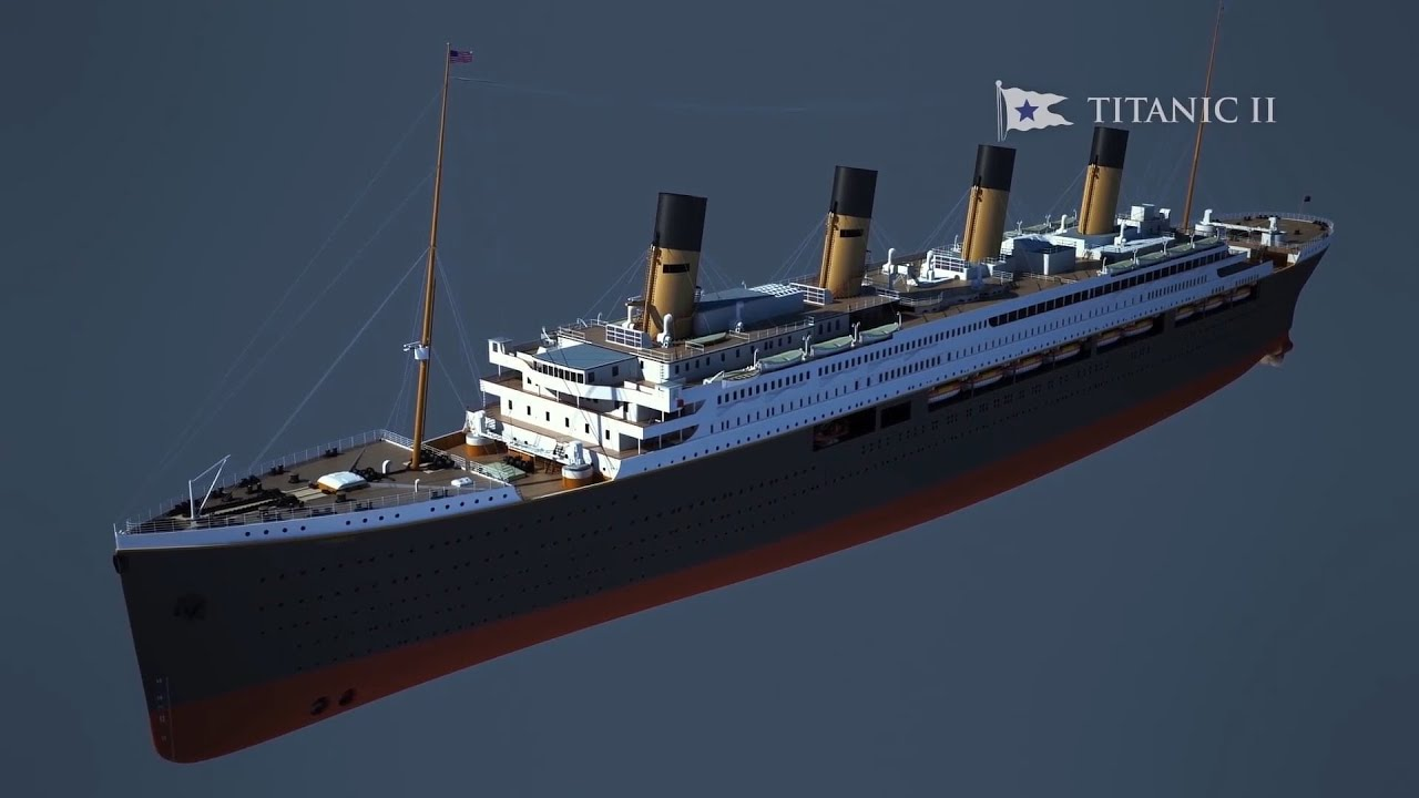 "A billionaire is building ""Titanic II"" - YouTube"