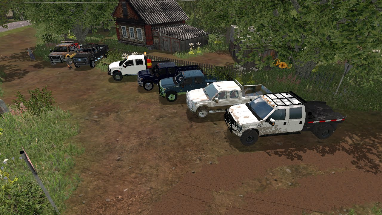 Farming Simulator 2015 Mods- A Lot of Trucks (Ford Only)
