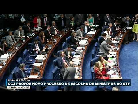 CCJ Propõe Novo Processo De Escolha Dos Ministros Do STF