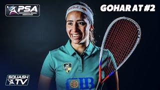 Squash: Nouran Gohar on Being World #2