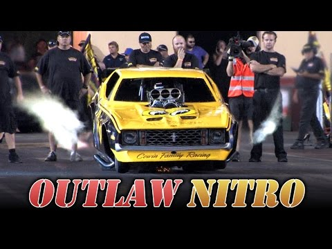 Outlaw Nitro Funny Cars – Night of Fire!