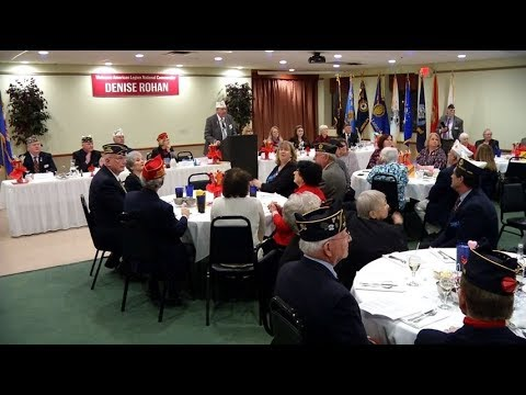 National Commander For American Legion Visits Osseo-Maple Grove