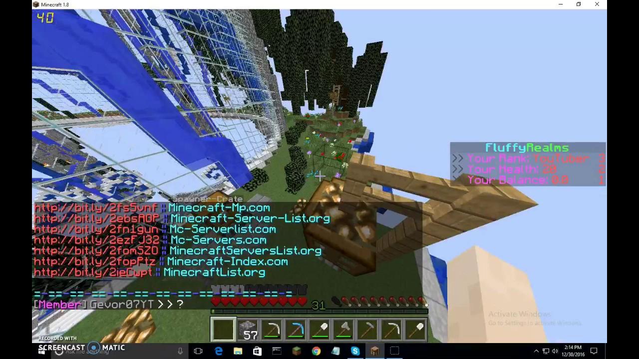 minecraft servers 1 12 2