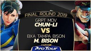 Download Video GRPT MOV (Chun-Li) vs BxA Tampa Bison (M. Bison) - Final Round 2019 - Top 16 - CPT 2019 MP3 3GP MP4