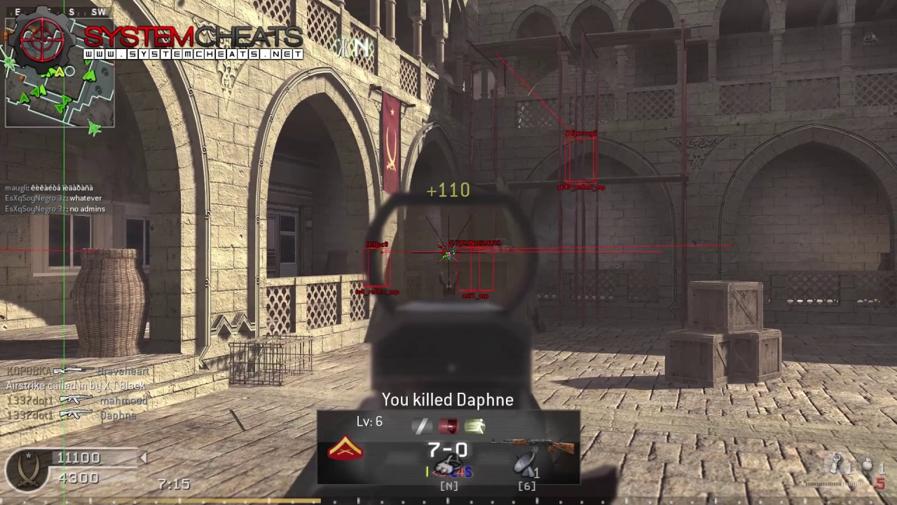 Call of duty 4 aimbot and wallhack 1. 7 download link!!! Detected.