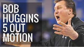 Bob Huggins West Virginia 5 out motion offense complete guide