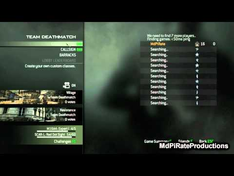 Modern Warfare 3 Joining Multiplayer (Contains spoilers)