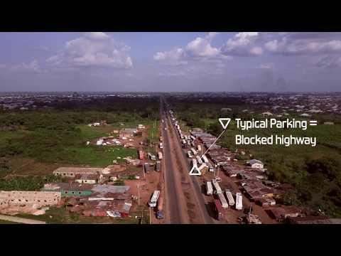 Mavic Pro Flight over... Benin By-Pass