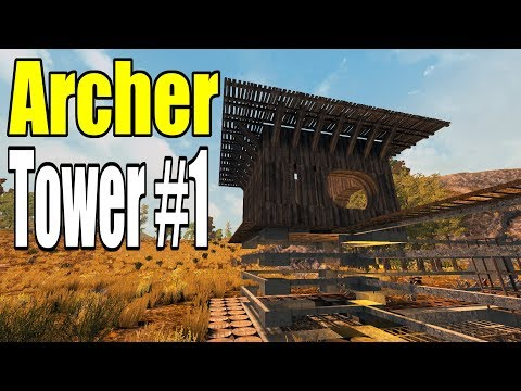 Surprise Spawn and Archer Tower #1 | Valmod | 7 Days To Die Alpha 16 Let's Play Gameplay PC | E29