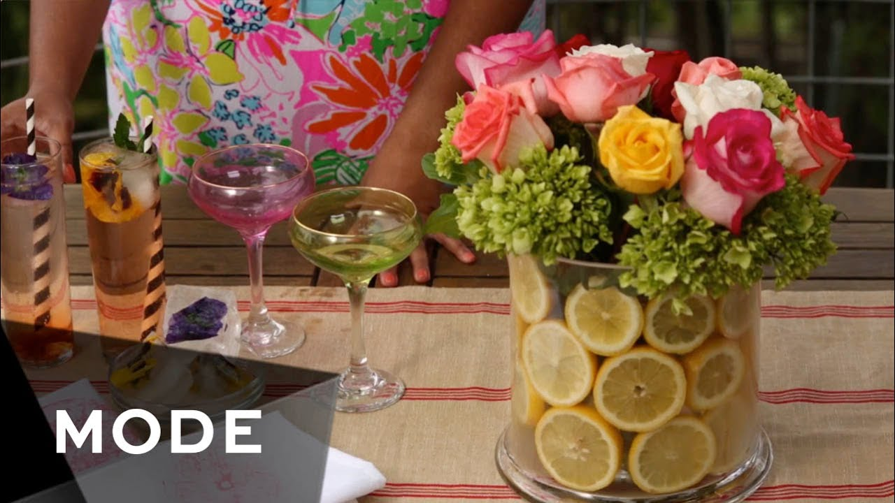 4 DIY Garden Party Ideas | Haute Hostess - YouTube