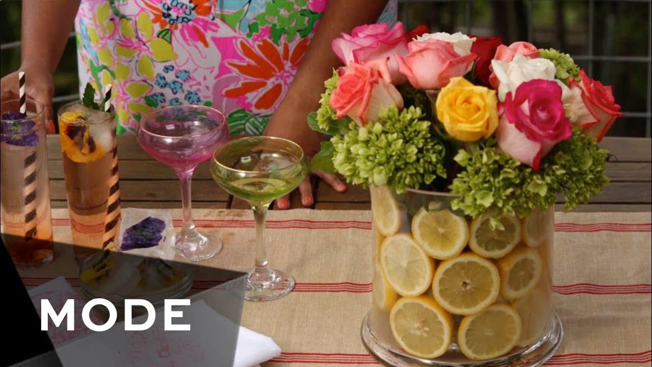 4 DIY Garden Party Ideas Haute Hostess YouTube