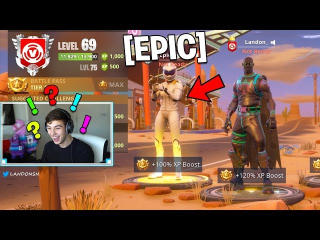 This FANS cousin is an EPIC GAMES EMPLOYEE.. (Fortnite Battle Royale)
