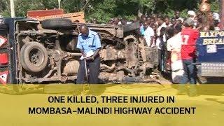 One killed, three injured in Mombasa-Malindi highway accident