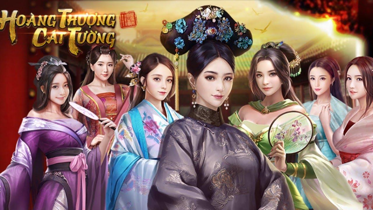 Thị tẩm Mỹ nhân game Hoàng Thượng Cát Tường (Bản PC)