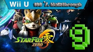 Star Fox Zero - 100% Walkthrough Part 9 - Asteroid Field Via Area 3 (All Gold Medals & Routes Guide)