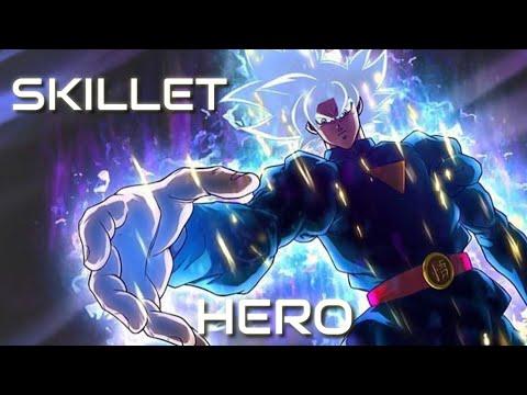 Super Dragon Ball Heroes | Skillet - Hero (REMIX) || AMV