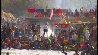 montage on Narmada river