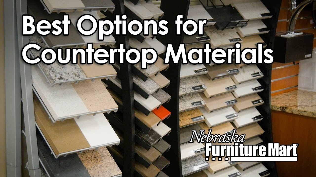 Learn More About The Best Countertop Materials At Nfm Nebraska Furniture Mart