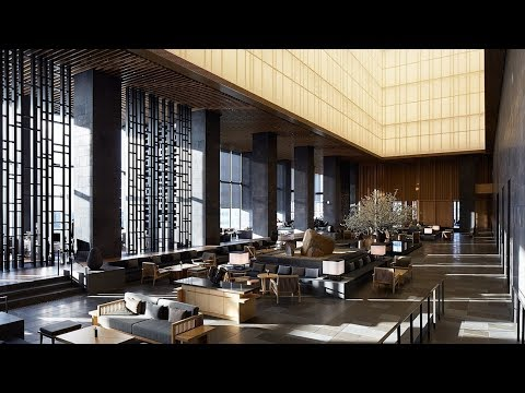 AMAN TOKYO, the Japanese capital's most luxurious hotel (PHE
