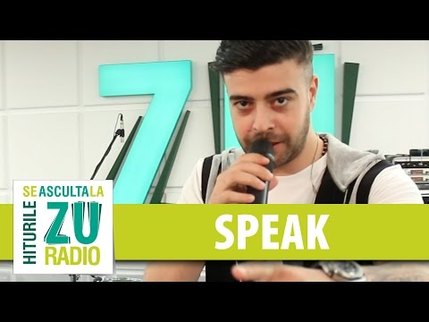 Speak - Profund (Live la Radio ZU)
