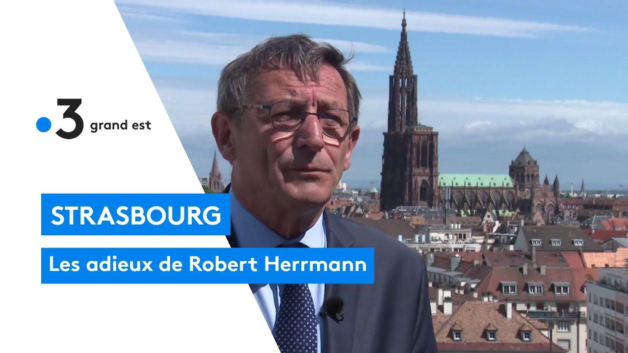 Strasbourg : les adieux de Robert Herrmann, président de l'eurométropole