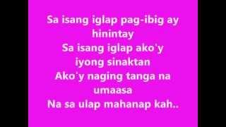 Without Words (tagalog version) - lyrics