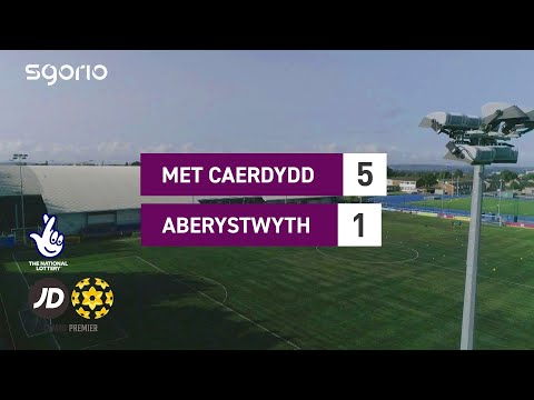 Cardiff Metropolitan Aberystwyth Goals And Highlights