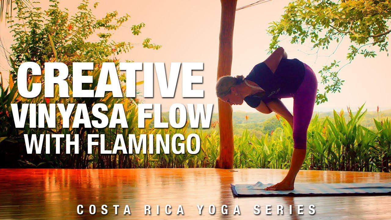 Creative Vinyasa Flow with Flamingo Yoga Class - Five Parks Yoga