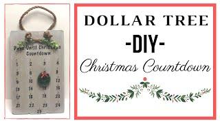 Must See Dollar Tree DIY | Christmas Countdown | Christmas 2019 | Make With Me!