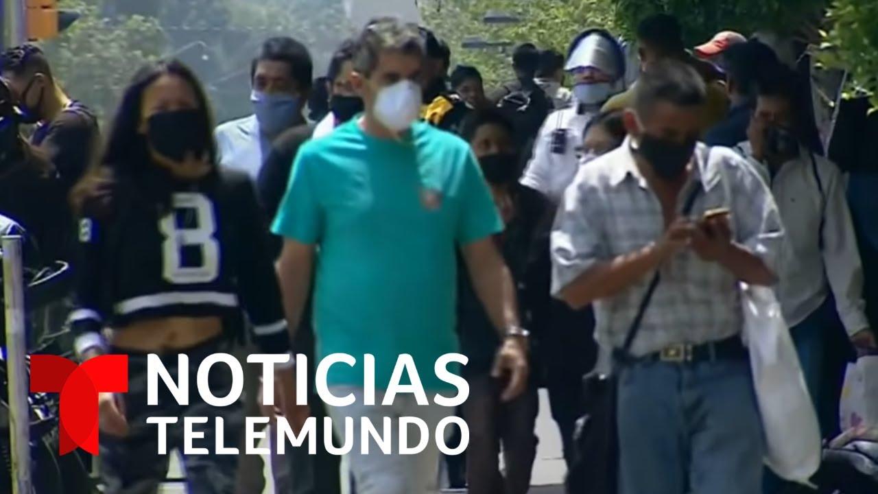 Investigan posible caso de reinfección por COVID-19 en México | Noticias Telemundo