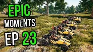 PUBG: Epic & Lucky Moments Ep. 23