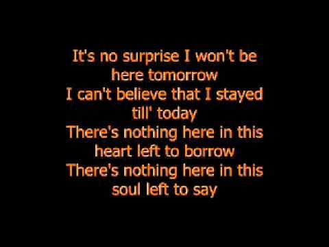 daughtry---no-surprise-lyrics