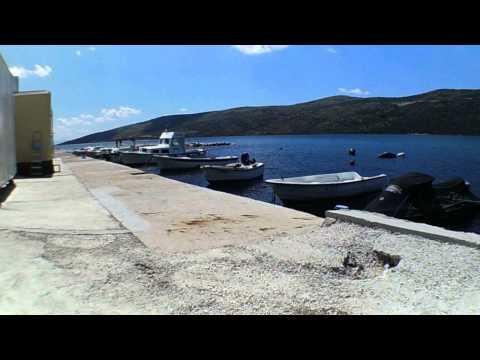 Poljica koło Marina, Dalmacja, Chorwacja, Croatia, HR, wybrzeże, widok na półwysep.