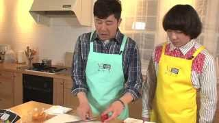 """あべこうじ&チーモンチョーチュウがヘルシーでおいしい!""""チーズハンバ..."""