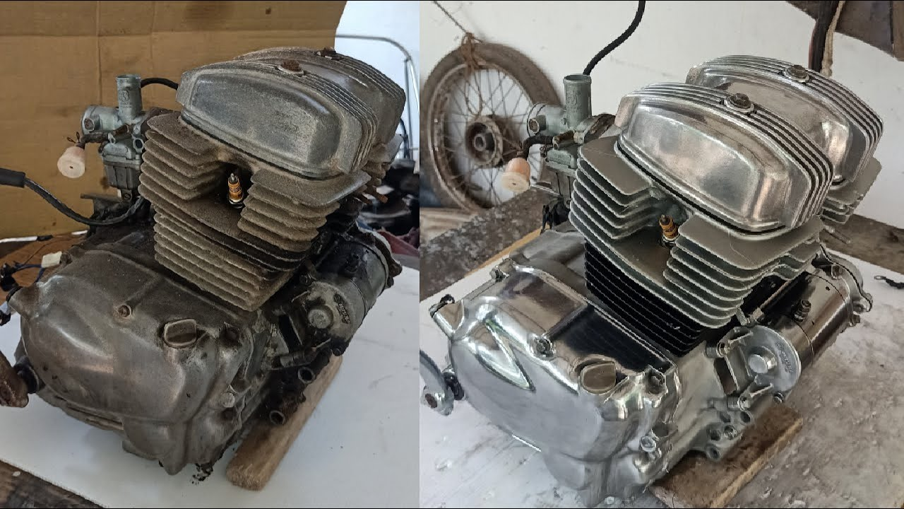 Honda RoadMaster Engine full Restoration | Honda CD200 Engine Restoration