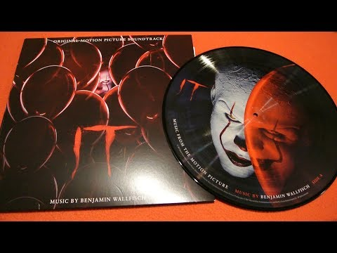 ES (IT) Vinyl Gatefold Soundtrack + Picture Disc + CD Benjamin Wallfisch/ Stephen King / Pennywise