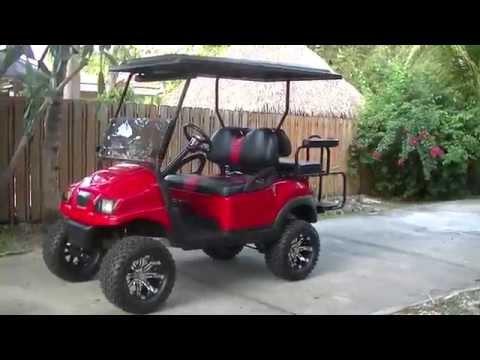 Club Car Precedent Phantom Lifted Golf Cart (Overview)