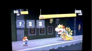 Paper Mario Sticker Star: Final Boss Bowser Battle...