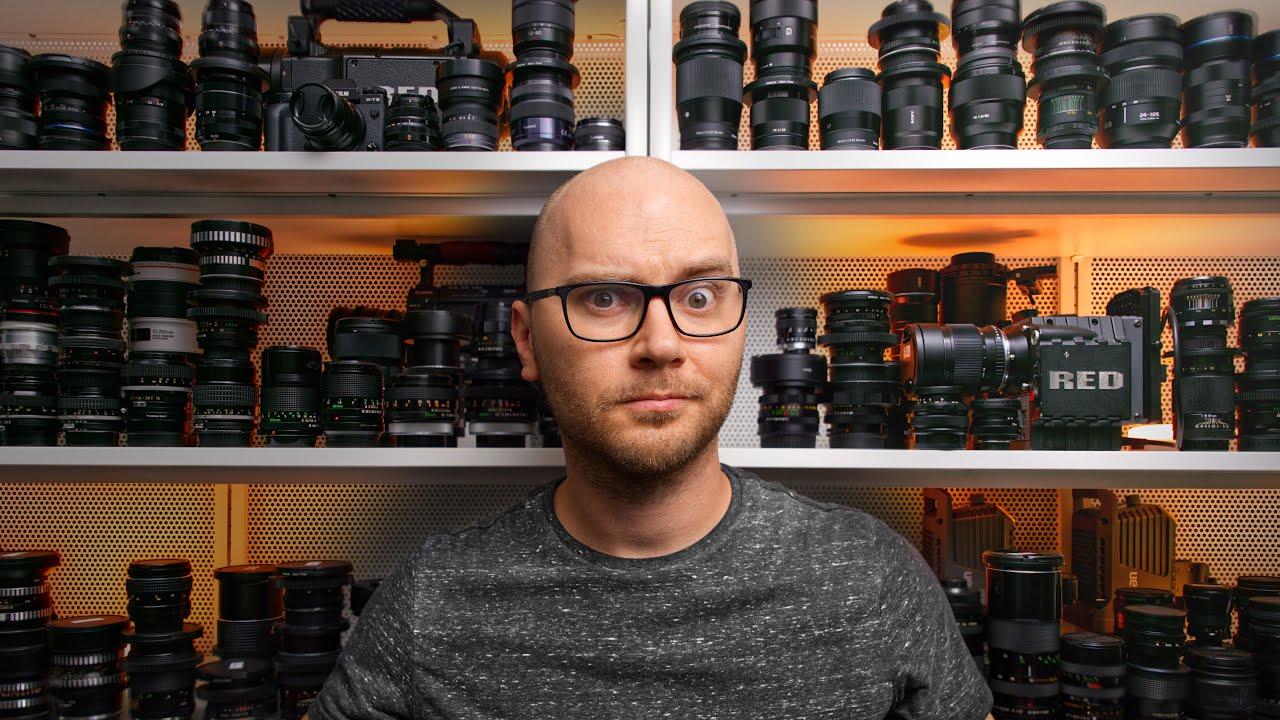 A Camera Hoarder's Youtube Studio