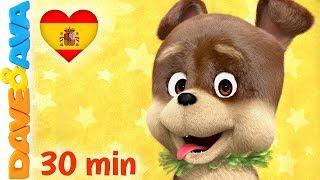 🐕 La Canción de Bingo y Más Canciones Infantiles | Música Infantil de Dave y Ava 🐕