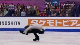 2015年グランプリファイナル 羽生結弦選手 フリープログラム SEIMEI ユ...