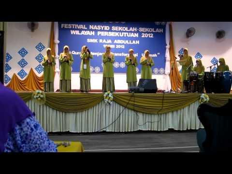 SMKWM2-FESTIVAL NASYID WILAYAH PERSEKUTUAN 2012(LAGU KE 2)