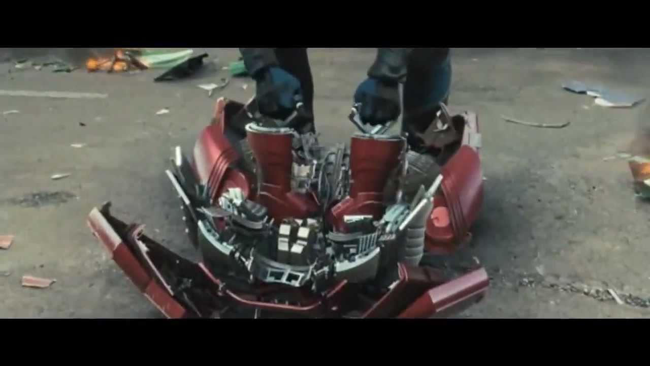Iron Man 2: Suit Up Scene