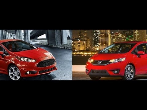 2015 Honda Fit Vs. Ford Fiesta: By The Numbers